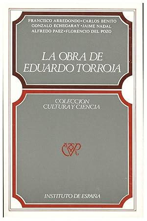 LA OBRA DE EDUARDO TORROJA: ARREDONDO VERDU, F. Y OTROS