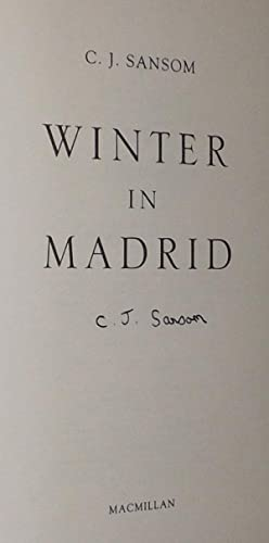 WINTER IN MADRID.