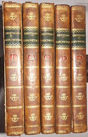 The Baronetage of England or The History of The English Baronets and such Baronets of Scotland, as ...