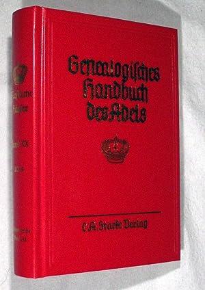 Genealogisches Handbuch des Adels Band 155 der Gesamtreihe GENEALOGISHES HANDBUCH DER FURSTLICHEN ...