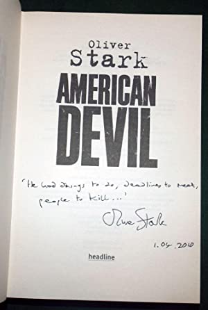 AMERICAN DEVIL: STARK, Oliver