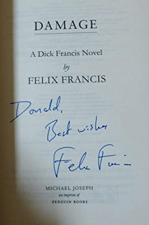 DAMAGE (A Dick Francis Novel)