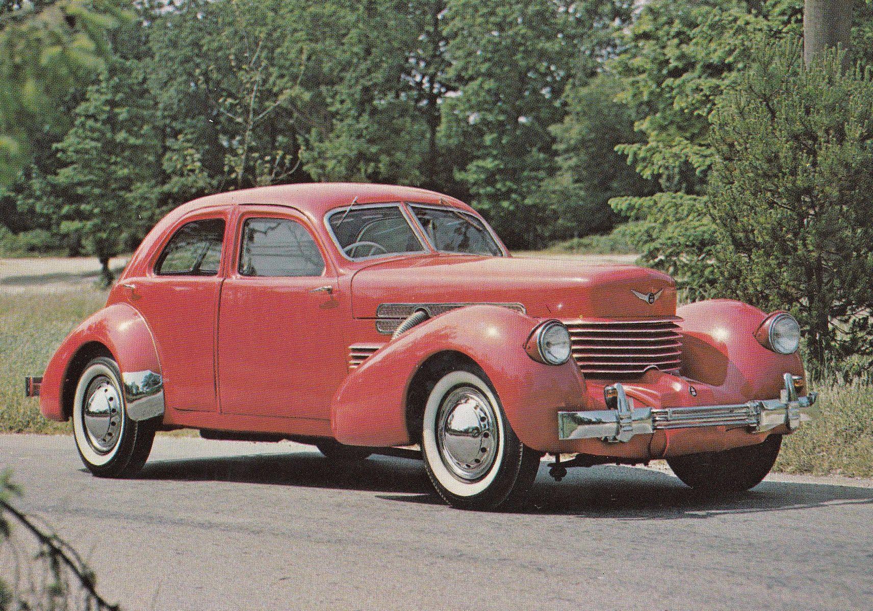 1937 Cord Beverley Sedan Classic Car