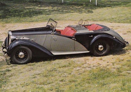 1939 Daimler DB18 Dolphin Classic Sports Car