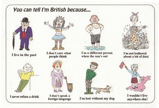 Old Fashioned Body Art Tattoo Smoker How To Be British Big Comic Humour Postcard Manuscript Nbsp Nbsp Paper Nbsp Collectible Postcard Finder