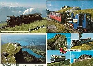 Schafberg Germany 4x Trains Railway Aerial Special