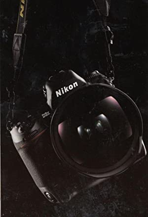 Nikon Camera with EVIL Owl Eyes in