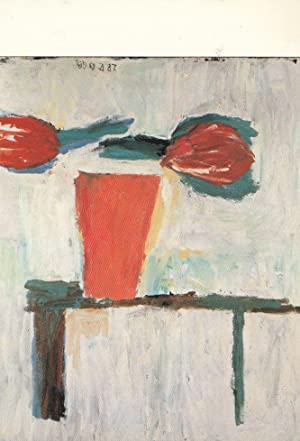 Georg Baselitz Tulpen Painting Postcard