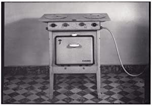 Eskimo Baulmes Switzerland 1930s Old Kitchen Gas Oven Cooker Art Photo Postcard