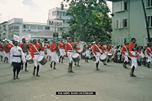 Fiji Military Army On Parade at Mobil