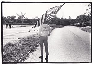 Washington 1968 American Flag Victory March Tracksuit Politics Photo Postcard