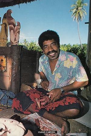 Fijian Wood Carver Carpenter Hand Craft Fiji