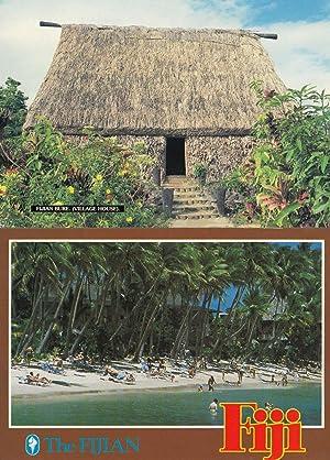 A Fijian Village Coconut Palm House 2x