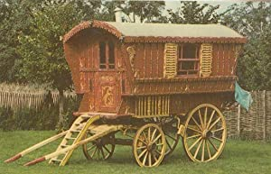 Romany Gipsy Caravan at Mary Ardens House