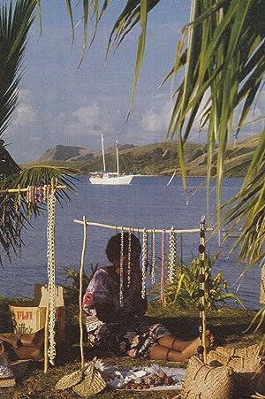 Fiji Jewellery Market Trader Seller Awaits Fijian