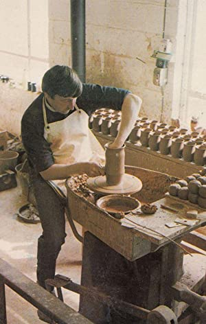 Welsh Ewenny Pottery 1970s Postcard