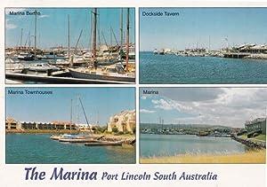 Port Lincoln Marina Fishing Boats Australia Postcard
