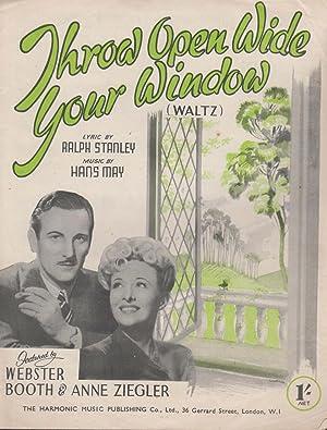 Throw Open Wide Your Window Waltz Anne