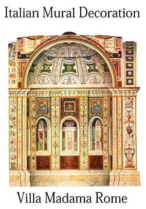 Italian Mural Decoration, Villa Madama, Rome,: ITALIAN MURAL DECORATION.