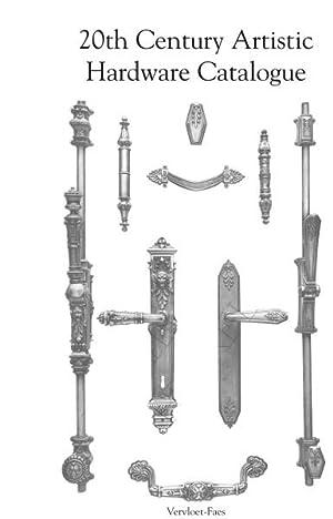 20th Century Artistic Hardware Catalogue.: VERVLOET-FAES,J.