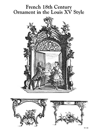 FRENCH 18TH CENTURY ORNAMENT IN THE LOUIS XV STYLE.