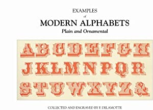 EXAMPLES OF MODERN ALPHABETS - PLAIN AND