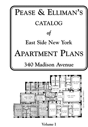 Catalogue of East Side New York Apartment Plans - 2 volumes: PEASE & ELLIMAN