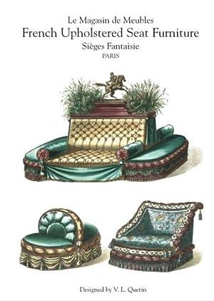 LA MAGASIN DU MEUBLE SIEGE FANTASIE - French Upholstered Seat Furniture: Quentin, V.L.(designer)