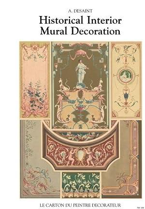 A DESAINT. HISTORICAL INTERIOR MURAL DECORATION: DESAINT, A.
