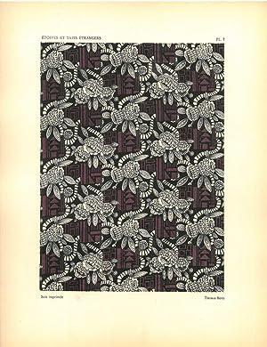 Etoffes et Tapis Etrangers. Expositions des Arts Decoratifs, 1925.: VERNEUIL, M. P.