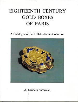 Eighteenth Century Gold Boxes of Paris. A Catalogue of the J. Ortiz-Patino Collection.