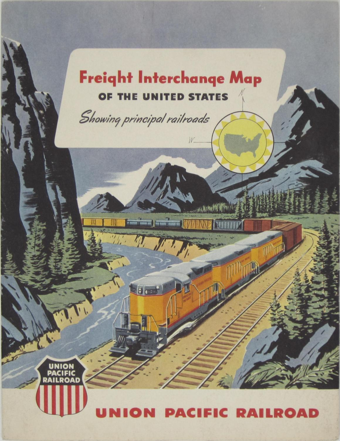 Freight Interchange Map of the United States...