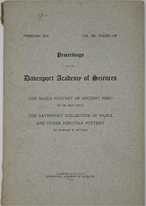 Proceedings of the Davenport Academy of Sciences: The Nazca Pottery of Ancient Peru and the ...