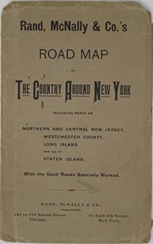 Rand, McNally & Co.'s Road Map of The Country around New York with the Good Roads Specially Marked