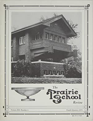 The Prairie School Review: Volume XII, Number: Hasbrouck, W.R. &