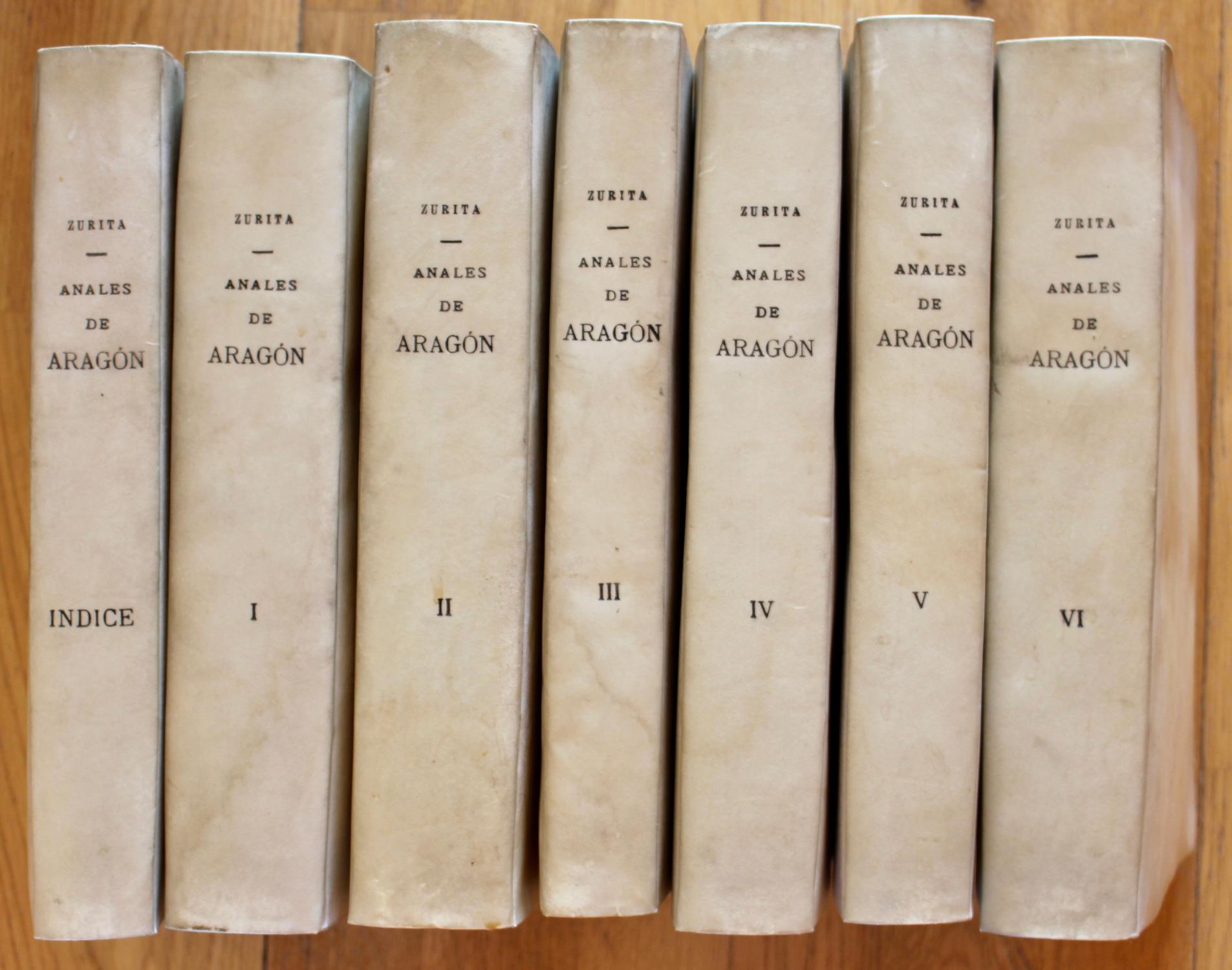 Anales de la corona de Aragon Geronimo Çurita Very Good Softcover