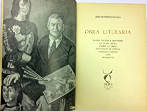 Obra Literaria. Madrid, escenas y costumbres, La: GUTIÉRREZ SOLANA, José.