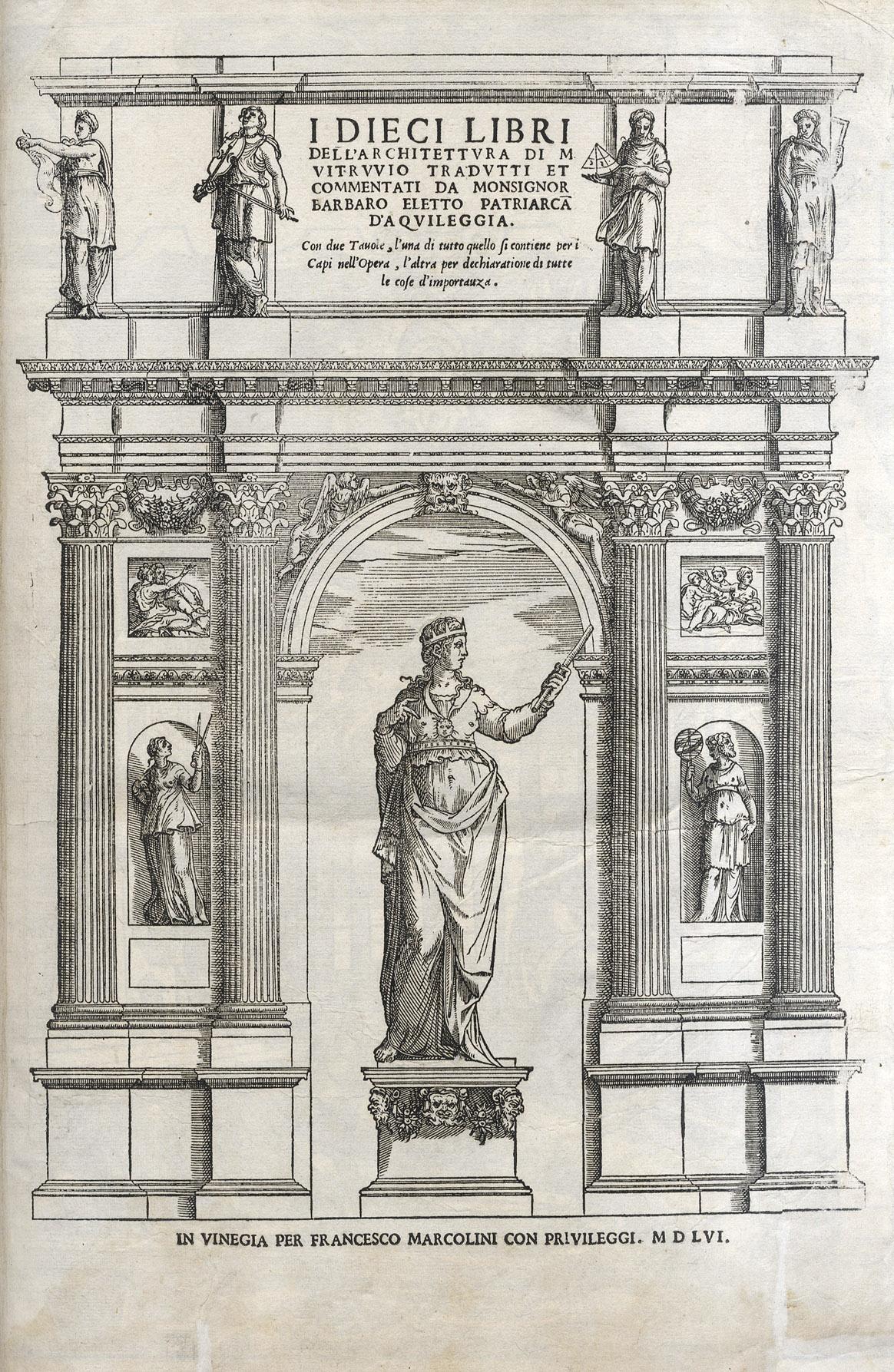 Book cover of I dieci libri dell'architettvra