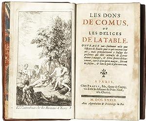 Les Dons De Comus, Ou Les Delices: MARIN Francois