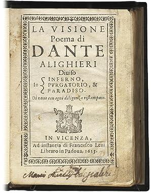 La Visione. Poema di Dante Alighieri diviso: DANTE