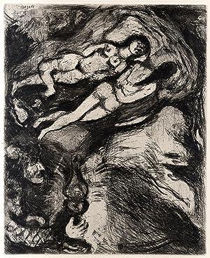 Fables, Eaux-fortes originales de MARC CHAGALL.: Chagall - LA