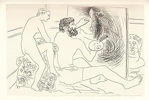 Le Chef-D'Oeuvre Inconnu. Eaux-fortes originales et dessins: Picasso - BALZAC