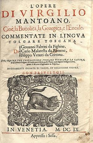 L' opere di Virgilio mantoano, cioè, la: VIRGILIO MARONE Publio