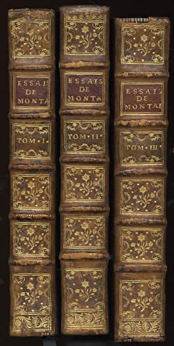 Les Essais de Michel seigneur de Montaigne.: MONTAIGNE