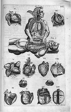 Historia Anatomica Humani Corporis et singularum eius: LAURENTIUS, Andreas.
