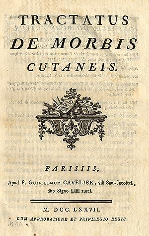 Tractatus de Morbis Cutaneis.: LORRY Anne Charles,
