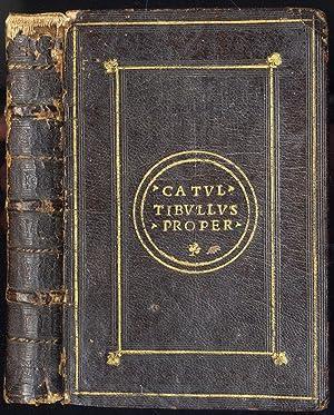 ae4b034ad0 Tibullus - Catullus Propertius - AbeBooks