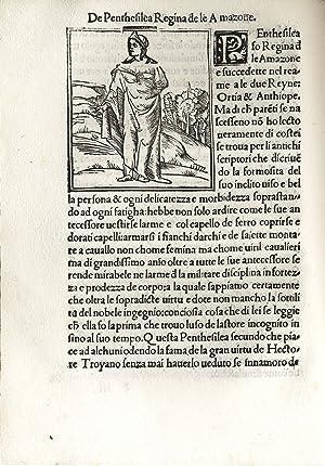 L'Opera de misser G. Boccacio de Mulieribus: BOCCACCIO Giovanni