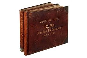 Vedute del Tevere in Roma prima della: TEVERE - Fotografie