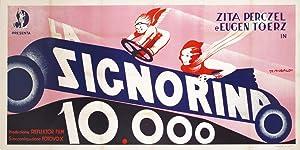 Locandina pubblicitaria per la commedia ungherese diretta: SIGNORINA, 10.000.